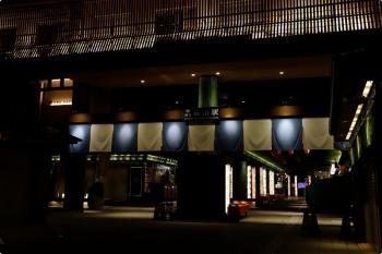 2020年10月11日。嵐電の嵐山駅。奥がホームです。