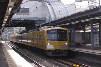 2011年1月1日、東長崎、300Fの4201レ。