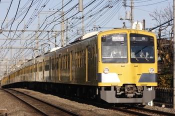 2010年12月29日、所沢~西所沢、1309F+287Fの4860レ。