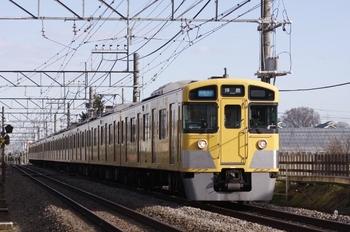 2011年1月1日、小川~東大和市、2051F+2519Fの3309レ。