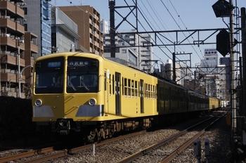 2011年1月20日、高田馬場~下落合、285F+1301Fの3308レ。