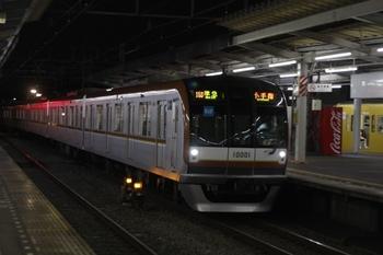 2011年1月21日、西所沢、メトロ10001F(8連)の4531レ。