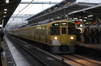 2011年1月25日 6時48分ころ、所沢、2515F+2047Fの準急 上石神井ゆき。