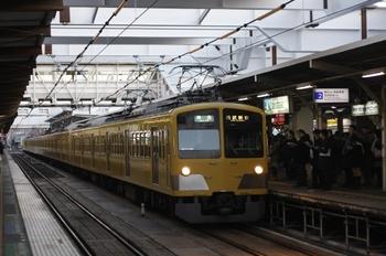 2011年1月25日 7時0分、所沢、295F+1311Fの準急 西武新宿ゆき。