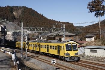 2011年1月30日、吾野、発車した1309Fの西吾野ゆき臨時。