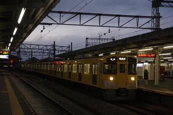 2011年1月30日、西所沢、2501Fの6156レ。