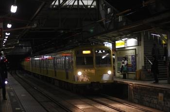 2011年2月3日、所沢、271F+1303Fの2261レ。