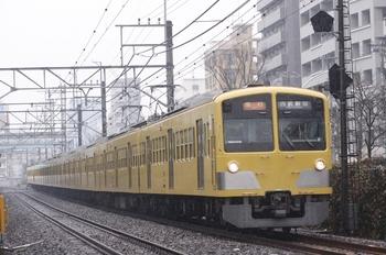 2011年2月11日、高田馬場~下落合、1301F+285Fの2640レ。