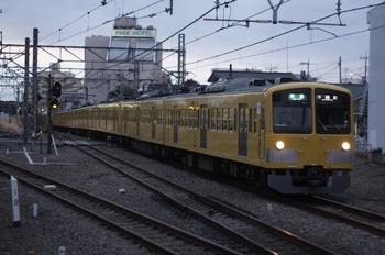 2011年2月10日、所沢、295F+1311Fの4603レ。<br />