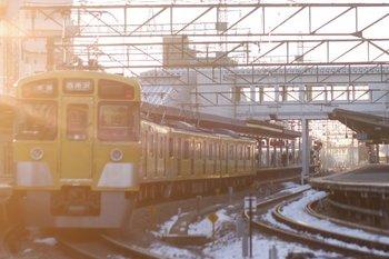 2011年2月16日、西所沢、2455F+2465Fの6108レ。