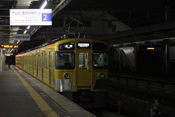 2011年2月16日、西所沢、2455F+2465Fの6193レ。