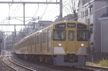 2011年2月26日、池袋~椎名町、2063Fの1007レ。