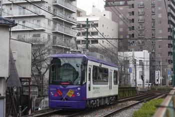 2011年3月2日、学習院下~面影橋、早稲田ゆきの8806。