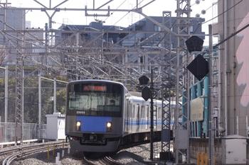 2011年3月5日、高田馬場~下落合、20155Fの2105レ。