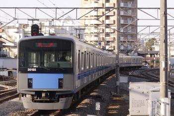 2011年3月5日 16時17分、東村山、20155Fの下り回送。