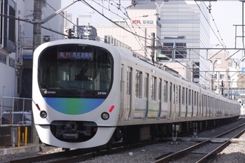 2011年3月6日、高田馬場~下落合、38106Fの2105レ。