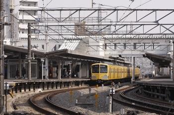 2011年3月20日 14時45分頃、西所沢、発車を待つ1241Fの西武球場前ゆき。