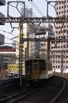 2011年3月26日 14時22分頃、石川町、西武 2091Fの甲種輸送列車。