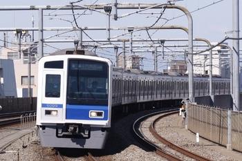 2011年3月27日 9時46分頃、富士見台、6109Fの各停 小竹向原ゆき。