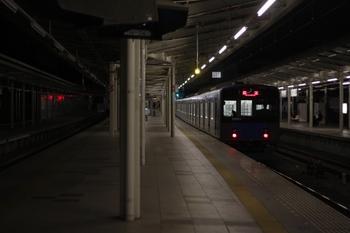 2011年3月24日 19時43分頃、入間市、20153Fの下り回送列車。
