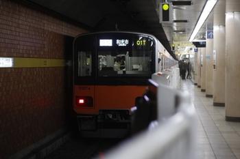 2011年3月28日 18時30分頃、小竹向原、東武50074Fの各停 和光市ゆき。