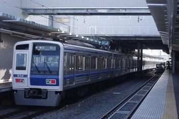 2011年4月1日 7時14分頃、保谷、発車した6114Fの6602レ。