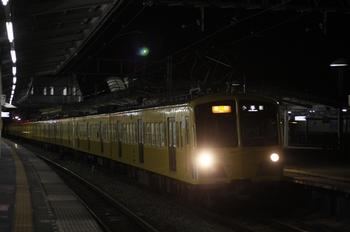 2011年4月1日 19時47分頃、西所沢、287F+1309Fの2261レ。