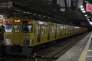2011年4月6日、所沢、2401F+2025F+2407Fの2675レ。