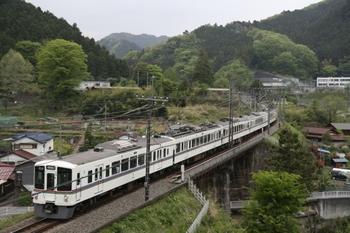 2011年5月7日、東吾野~吾野、4003F+4023Fの5037レ。