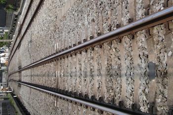 2011年5月、池袋~椎名町間の下り線を踏切から撮影