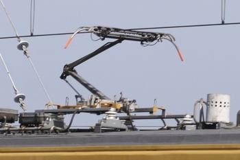 2011年6月4日、モハ9503の集電装置