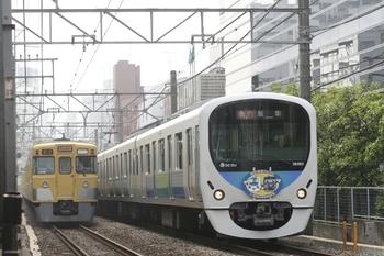 2011年6月5日、高田馬場~下落合、38109Fの臨時急行 飯能ゆき。