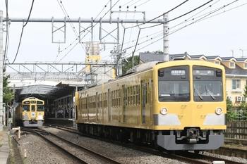 2011年6月24日、ひばりが丘、発車した1309F+287Fの4860レ。