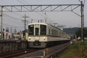 2011年7月2日 18時22分頃、元加治、4017F+4013Fの下り回送列車。