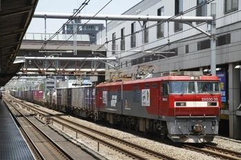 2011年7月16日、高田馬場、EH500-38牽引の3086レ。