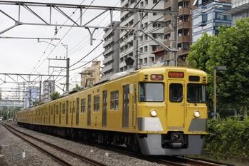 2011年7月21日、高田馬場~下落合、2021Fの5268レ。