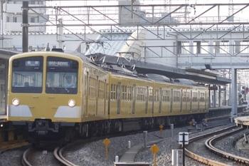2011年7月25日、西所沢、発車した1241Fの6105レ。