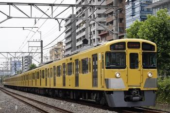 2011年7月27日、高田馬場~下落合、5818レの2095F。