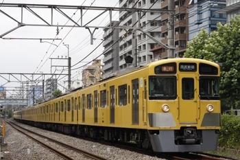 2011年8月1日、高田馬場~下落合、2053F+2533Fの急行 西武新宿ゆき(3308レ由来)