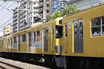 2011年8月10日、高田馬場~下落合、2409F+2055Fの4609レ。