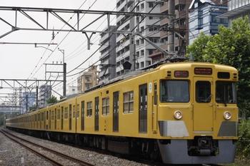 2011年8月11日、高田馬場~下落合、2401F+2061Fの2640レ。