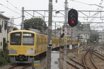 2011年9月11日 11時33分頃、小平、1311Fの拝島線・下り回送列車。