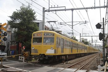 2011年9月17日、池袋~椎名町、2120レの271F+1303F。