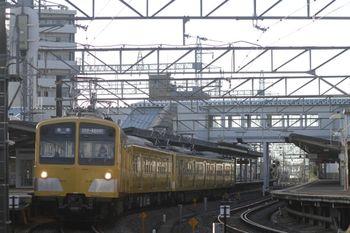 2011年9月18日、西所沢、281F+285Fの6105レ。