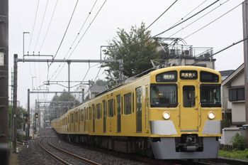2011年9月20日、池袋~椎名町、2459F+2089Fの通準 西武秩父ゆき(4801レ)。