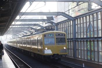 2011年9月29日、中村橋、271F+1303Fの4107レ。