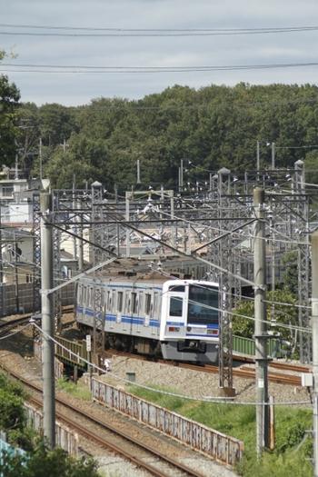 2011年10月1日、秋津~所沢、6156Fの2115レ。