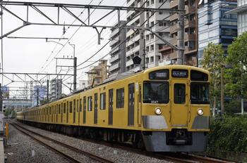 2011年10月24日、高田馬場~下落合、2047F+2507Fの1606レ。