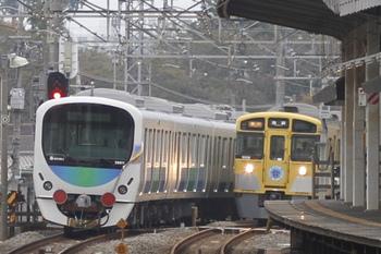 2011年10月30日 14時50分頃、西所沢、通過した38111F。