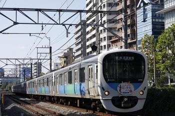 2011年10月31日、高田馬場~下落合、HM付き38108Fの5034レ。
